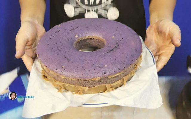 Cara membuat Kue Bolu Ubi Ungu