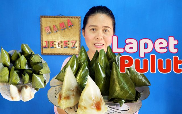Cara membuat kue tradisional Lapet Pulut