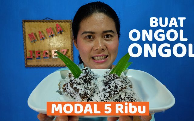 Cara Membuat Kue Ongol-ongol